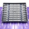 ปากกาสี 2 หัว ZIG CLEAN COLOR F No.035 - Deep Blue