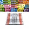 ปากกาเน้นข้อความ JAVA Duplex Mild Color- Pastel Red