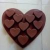 แม่พิมพ์ รูปหัวใจ
