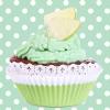 **หัวหน้าหอม Frosted Lime Cupcake 000237