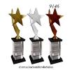 9146 ถ้วยรางวัล ดาว STAR Crystal Award