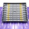 ปากกาสี 2 หัว ZIG CLEAN COLOR F No.050 - Yellow