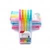 Set 5 Colors - ปากกาไฮไลท์ Monami Essenti Soft Pastel Highlighter