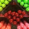 ปากกาสี 2 หัว Monami Live Color No.08 - Red
