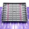 ปากกาสี 2 หัว ZIG CLEAN COLOR F No.025 - Pink