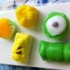 แม่พิมพ์ซิลิโคน รูปขนมไทย 5 ช่อง