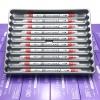 ปากกาสี 2 หัว ZIG CLEAN COLOR F No.020 - Red