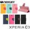 เคสฝาพับ Sony Xperia C3 ของ Mercury Diary Case