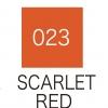 ปากกาสี 2 หัว ZIG CLEAN COLOR No.023 - Scarlet Red