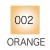 ปากกาสี 2 หัว ZIG CLEAN COLOR No.002 - Orange Fluorescent