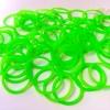 รุ่นลิมิเต็ดทรงโดนัท(Smaller Size) สีเขียวนีออน 300 เส้น (DG)