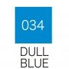 ปากกาสี 2 หัว ZIG CLEAN COLOR No.034 - Dull Blue