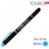 Tombow Kei-coat Twin Head Highlighter - LightBlue สีฟ้าอ่อน