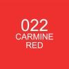 ปากกาพู่กัน ZIG CLEAN COLOR Real Brush - 022 Carmine Red