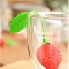 Tea Strainer ที่กรองชา รูปสตอเบอร์รี่ สุดน่ารัก