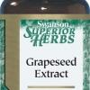 ((ลดสิว ริ้วรอย ฝ้า กระจางลง ผิวกระจ่างใส)) Swanson Grape Seed Extract 200 mg 60 เม็ด (USA) บำรุงผิวพรรณ เพื่อผิวขาว กระจ่างใส