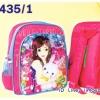 """กระเป๋านักเรียน HighSchool 11.5x10x4"""" การ์ตูน PVC สะท้อนแสง"""
