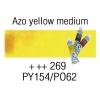 Van Gogh Watercolor 10 mL - 269 Azo Yellow Medium