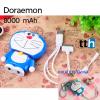 แบตสำรอง โดเรมอน powerbank doraemon 8000mAh ราคา 395 บาท