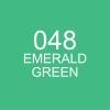 ปากกาพู่กัน ZIG CLEAN COLOR Real Brush - 048 Emerald Green