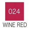 ปากกาสี 2 หัว ZIG CLEAN COLOR No.024 - Wine Red
