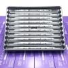 ปากกาสี 2 หัว ZIG CLEAN COLOR F No.091 - Light Gray