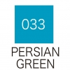 ปากกาสี 2 หัว ZIG CLEAN COLOR No.033 - Persian Green