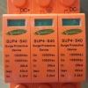 ตัวป้องกันฟ้าผ่าฝั่ง DC สำหรับระบบโซล่าเซลล์ ขนาดกระแสสูงสุด 40kA (DC Surge Protector 40kA)