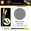 XBR-46 Dark Cool Gray - SAKURA Koi Brush Pen
