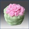 แม่พิมพ์ซิลิโคน รูปดอกกุหลาบ 170g