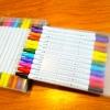 Set 12สี - ปากกาสี 2 หัว ZIG CLEAN COLOR