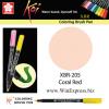 XBR-205 Coral Red - SAKURA Koi Brush Pen