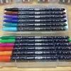Monami Artro 4030 ปากกาสี - ด้ามนำ้เงิน