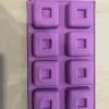 แม่พิมพ์ซิลิโคน สี่เหลี่ยม 6.6*2.8 cm