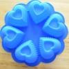 แม่พิมพ์ซิลิโคน รูปหัวใจ 6 ช่อง