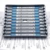 ปากกาสี 2 หัว ZIG CLEAN COLOR F - Metallic Blue