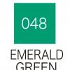 ปากกาสี 2 หัว ZIG CLEAN COLOR No.048 - Emerald Green