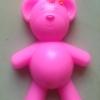 แม่พิมพ์ซิลิโคน หมีผู้หญิง 5 ช่อง 75 g