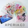 เคส Sony Xperia C3 แบบยางใส ลายการ์ตูน