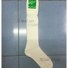 ถุงเท้าไหมพรมยาว ขาวล้วน หนา