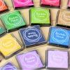 Bentoto House Candy Color Ink Pad เซ็ตหมึกปั๊ม 20 สี