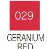 ปากกาสี 2 หัว ZIG CLEAN COLOR No.029 - Geranium Red