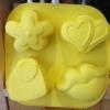 แม่พิมพ์ รูปปาก ดอกไม้ หัวใจ กระเป๋า 120g