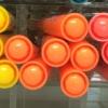 ปากกาไฮไลท์ Monami Colorful Day - No.04 Orange