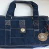 กระเป๋าถือ+สะพาย Lingky สีน้ำเงิน