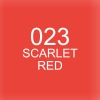 ปากกาพู่กัน ZIG CLEAN COLOR Real Brush - 023 Scarlet Red