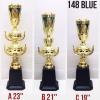 ถ้วยรางวัลโทรฟี่ 148 สีฟ้า