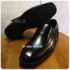 Goldcity C008 - รองเท้าหนังดำชาย