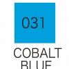 ปากกาสี 2 หัว ZIG CLEAN COLOR No.031 - Cobalt Blue
