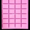 แม่พิมพ์ซิลิโคน สี่เหลี่ยม 4*3*1cm 15-20g